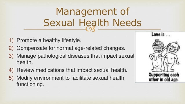Healthy sexuality in older adults