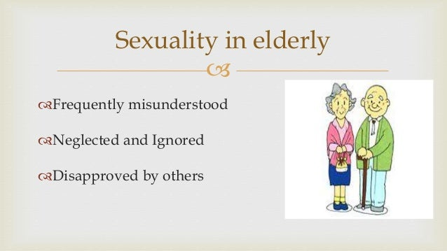 Gender identity disorder and sexuality and aging