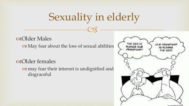 Sexuality and aging cartoons