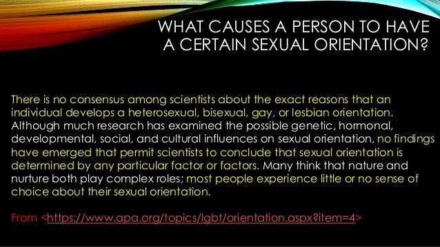 Sexual Orintation 119