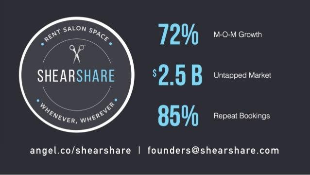 500 Demo Day Batch 19: Shearshare