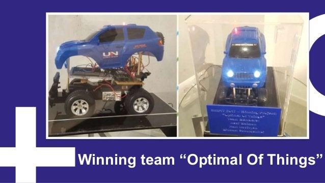 """Winning team """"Optimal Of Things"""""""