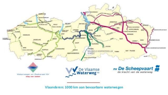 Vlaanderen: 1000 km aan bevaarbare waterwegen