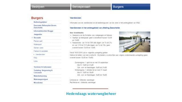 Hedendaags waterwegbeheer