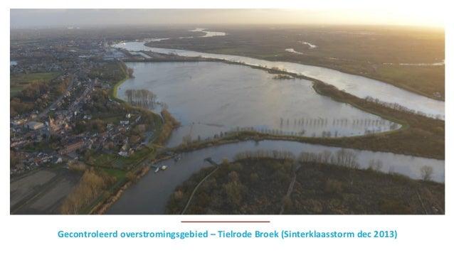 Gecontroleerd overstromingsgebied – Tielrode Broek (Sinterklaasstorm dec 2013)