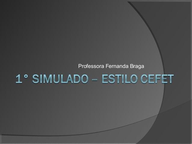 Professora Fernanda Braga