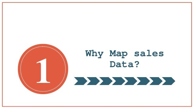 Why Mapping Software Is Great For Sales - Mapping sales data
