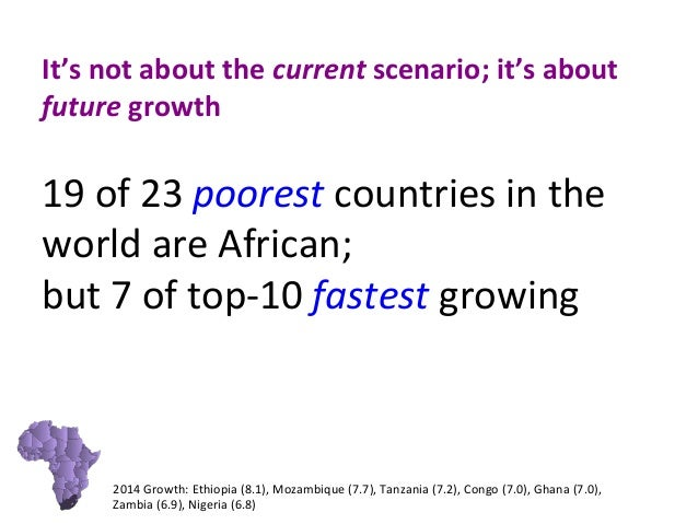 Slideshare Marketing In Africa Ian Rheeder - 23 poorest countries in the world