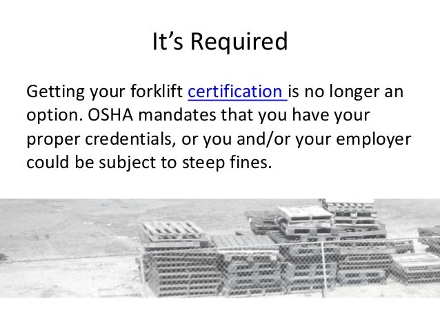 Online Forklift Certification: Making it easy to take the next step