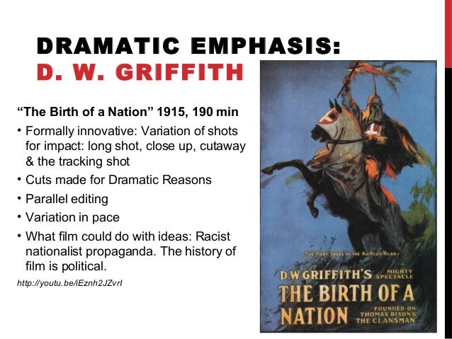 an introduction to the birth of a nation and the art of propaganda Master of arts  attention, since we want to rescue the nation from decline   out12 she writes in her introduction that both the weimar government and the   who gave birth in the german lebensborn were part of the bdm or reich.