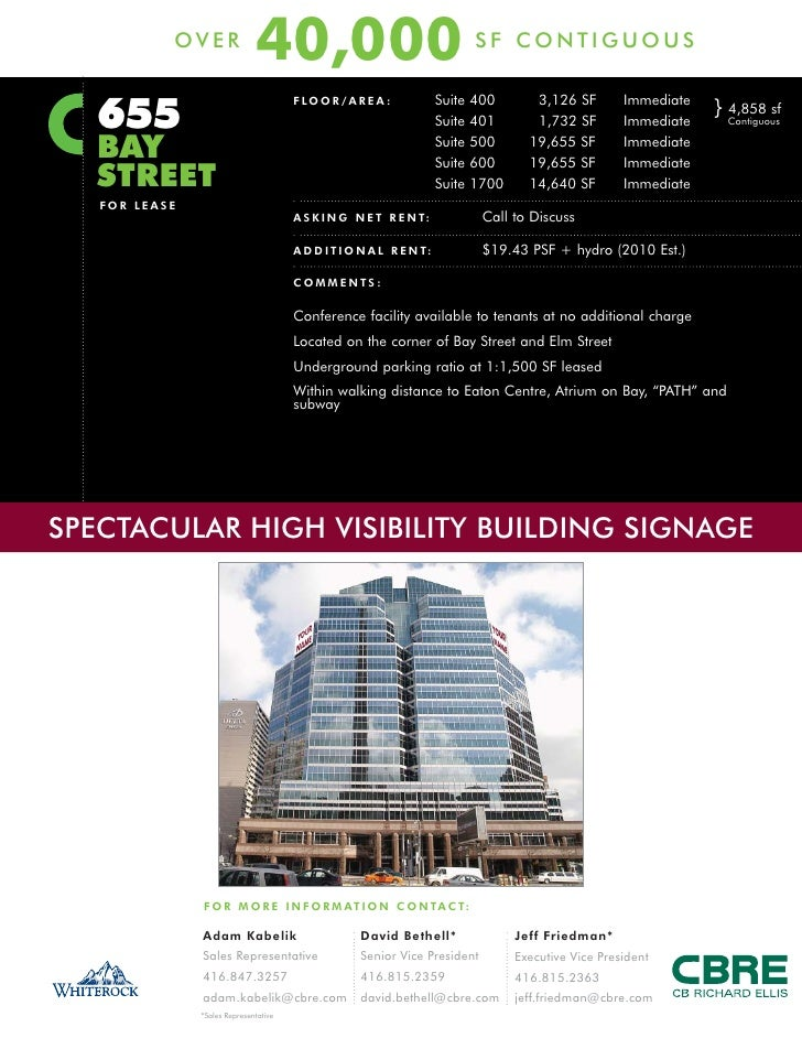 OVER                               40,000                                          SF CONTIGUOUS      655                 ...
