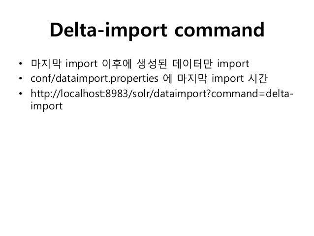 """• data-config.xml  <dataConfig>    <dataSource driver=""""org.hsqldb.jdbcDriver""""     url=""""jdbc:hsqldb:/temp/example/ex"""" user=..."""
