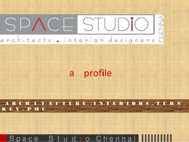 1 space studio profile ppt architecture n interiors 30 for Architecture company
