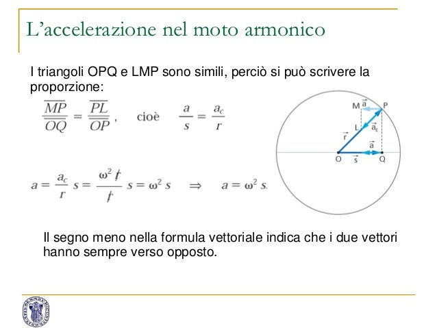 MOTO ARMONICO FORMULE PDF DOWNLOAD