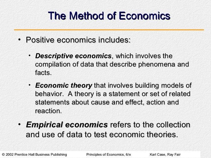 Scope Amp Method Of Economics