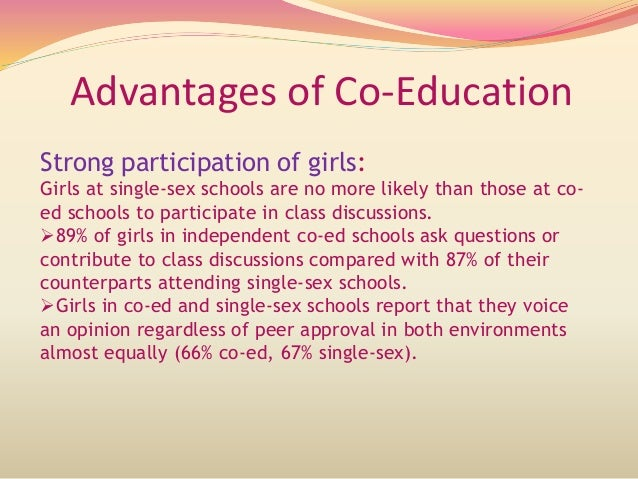 importance of co-education essay in english