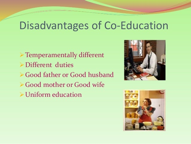 Essay co education advantages disadvantages