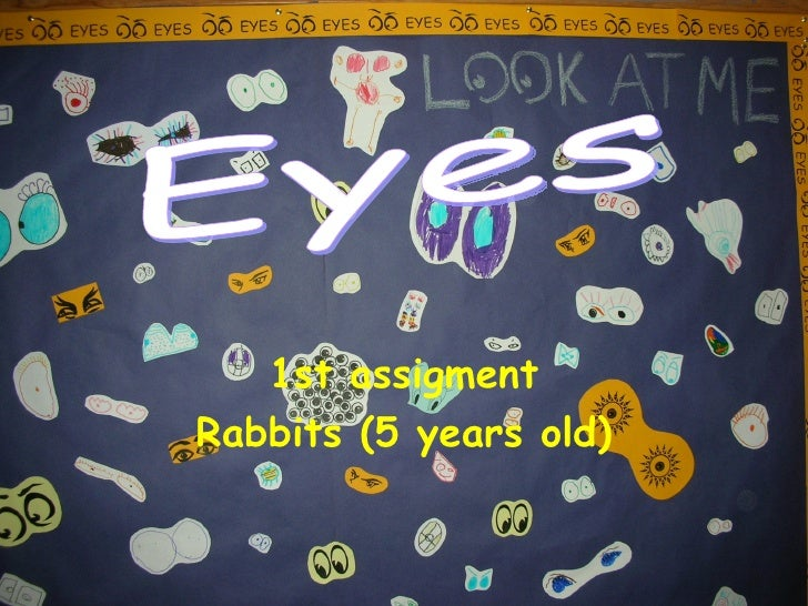 1st assigment Rabbits (5 years old) Eyes