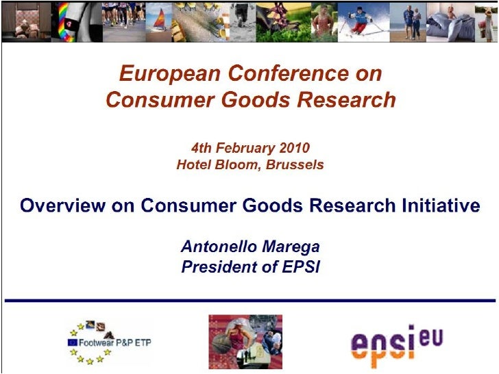 First european consumer goods research conference   4 feb 2010 - key slides