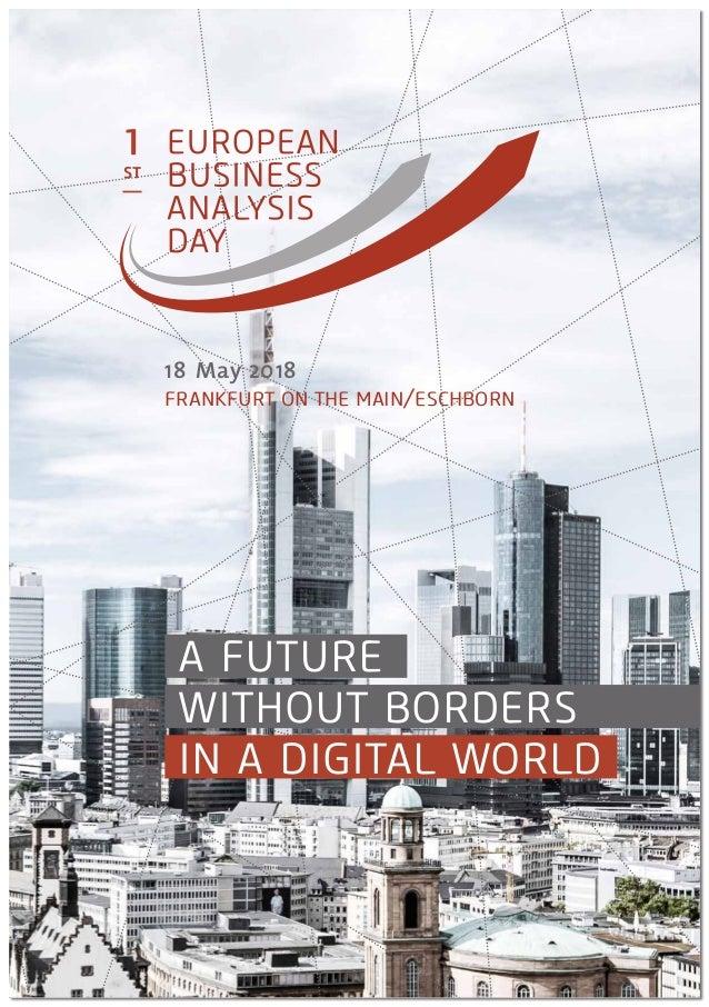 1st European Business Analysis 2018 Program