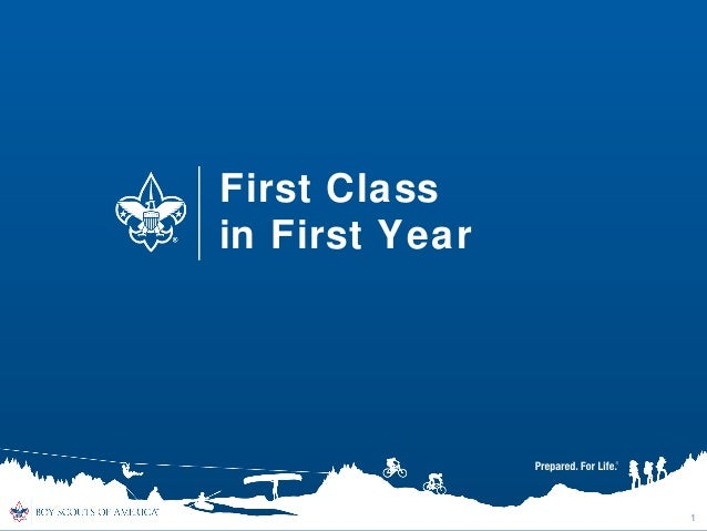 First Class in First Year  1