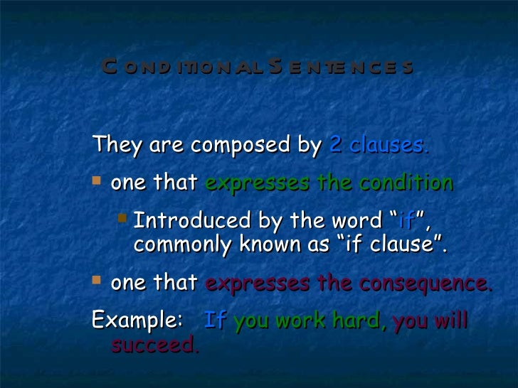 1st Conditional Slide 2