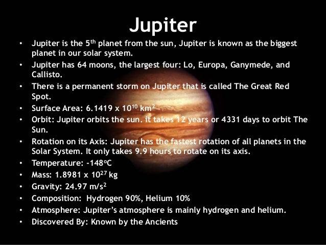 planets jupiter facts - photo #16
