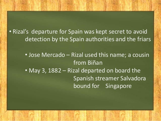 rizal journey Jose rizal has been to many countries after he graduated from the university of sto tomas this was his first travel outside of the philippines he had been to singapore, sri lanka, africa, italy, spain and a lot more european countries.