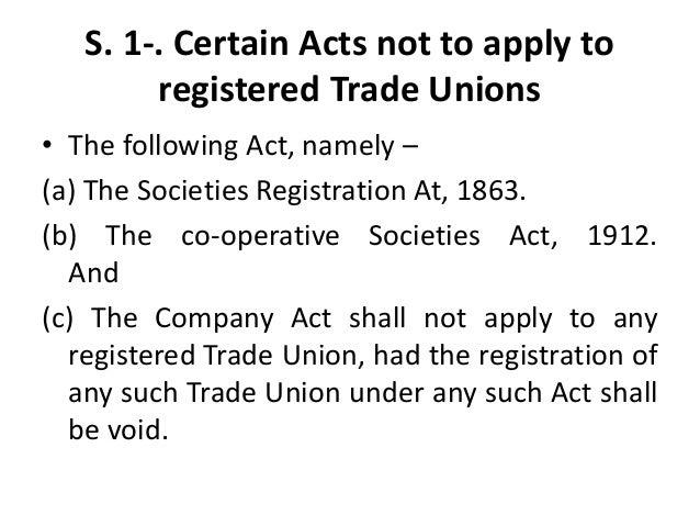 cooperative societies act 1912 pdf