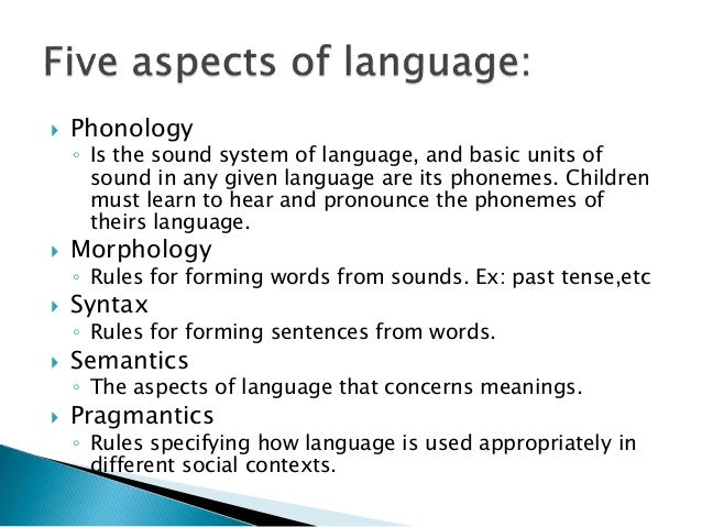 the aspects of second language acquisition The theories do have one thing in common though, and that is the fact that they all believe that language acquisition is the key aspect that distinguishes humans from other organisms and by understanding how different aspects of language are acquired we can better understand the main vehicle by which we communicate.