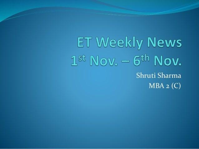 Shruti Sharma MBA 2 (C)