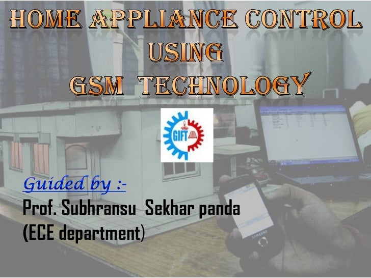 Home Automation Using Cell Phone