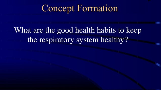 1st Science 17 Good Health Habits To Keep The Respiratory