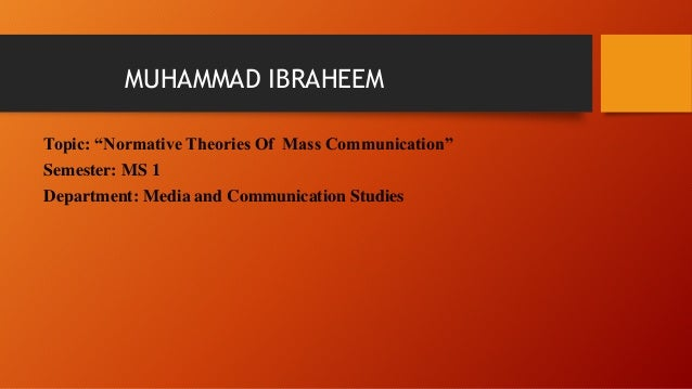 a collection of notes on theories of mass communication Learn mass communication chapter 10 with free interactive flashcards choose from 500 different sets of mass communication chapter 10 flashcards on quizlet.