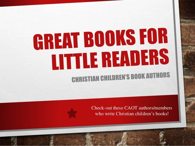 How to write a christian childrens book
