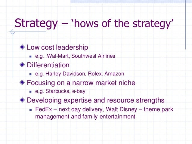 cost leadership and product differentiation harley davidson Strategic management 1,2,4,5,7  similar product at lower cost •differentiation advantage: price premium from unique product  -cost leadership-differentiation.