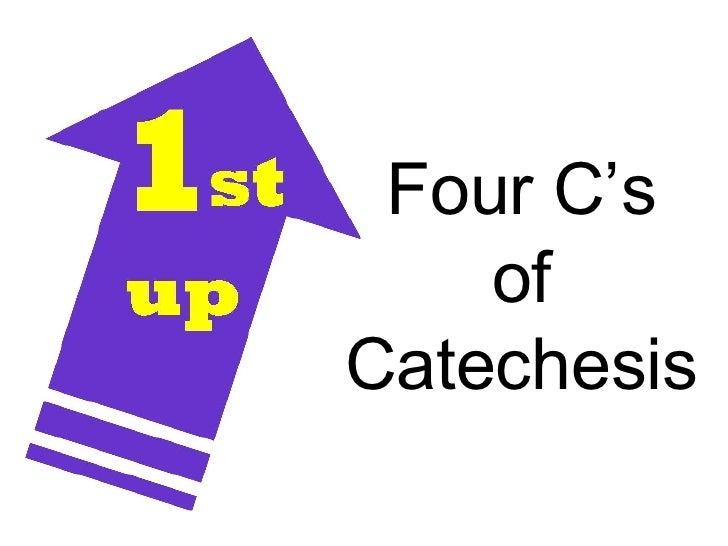 Four C's of Catechesis
