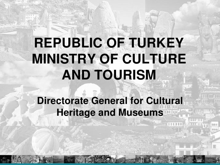 Mr.Murat Suslu, Ministry of Culture and Tourism of Turkey  First Mee…