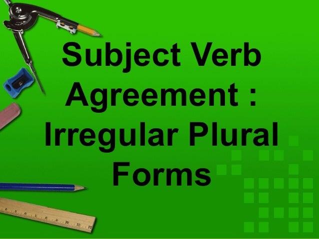 Eng7 sva irregular plural forms