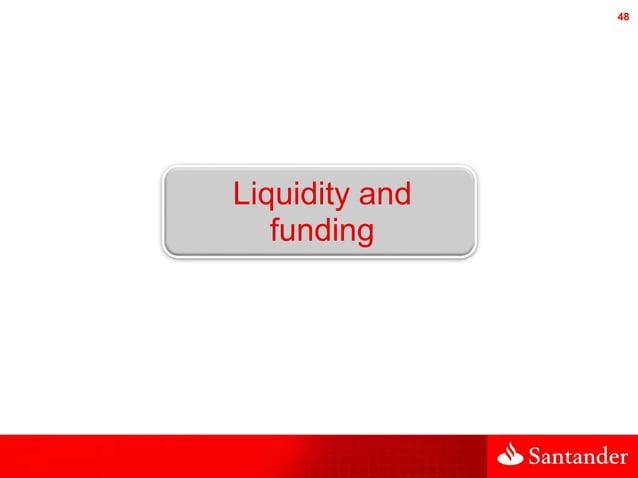 48 Liquidity and funding