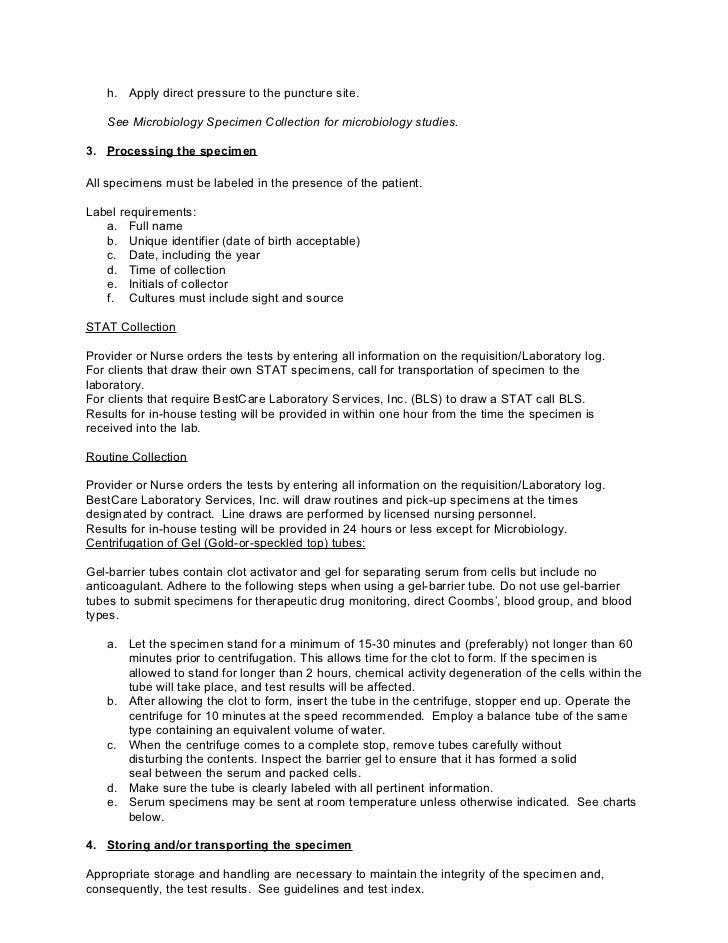 Bestcare Laboratory Client Manual