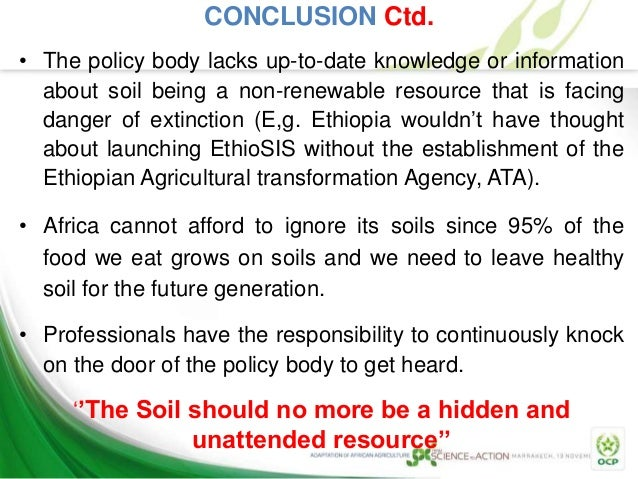 African soil information system for Soil information in english