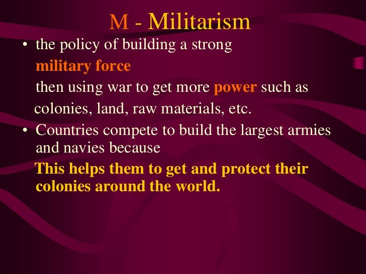 1 the main causes of wwi slideshare version