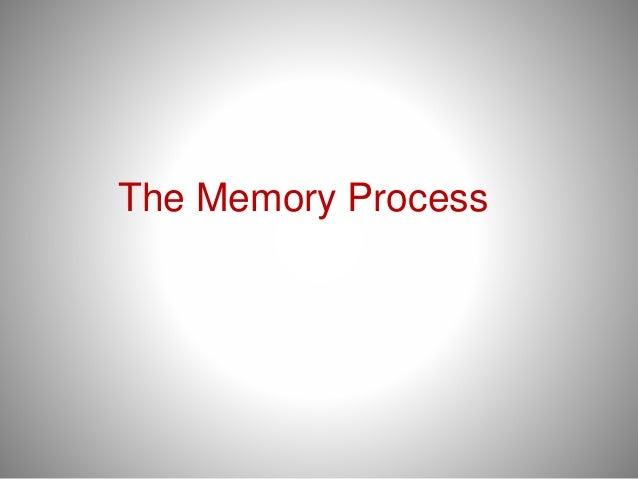 The Memory Process