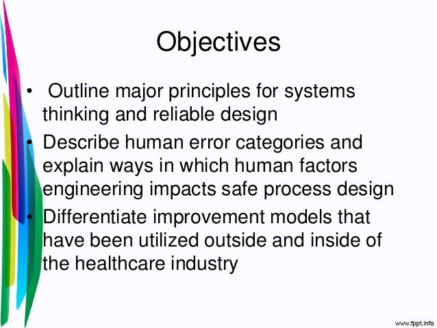 1 the science of patient safety Slide 2