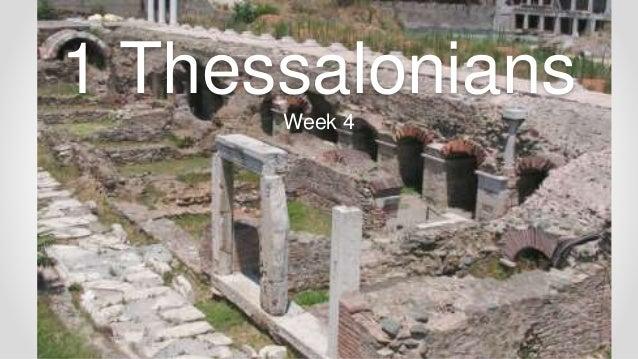 1 and 2 Thessalonians Bible Study Free study