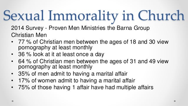 Sexual immorality in scripture