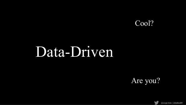 """""""Data Informed vs Data Driven"""" by Casper Sermsuksan (Kulina) Slide 2"""