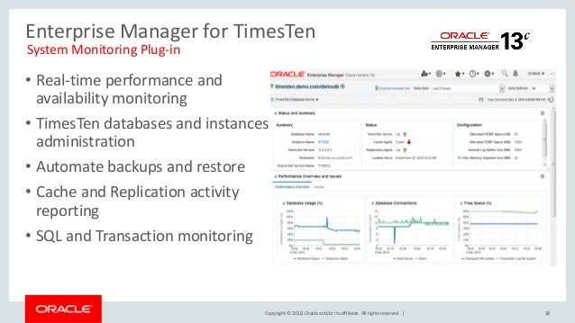 times ten in-memory database for extreme performance