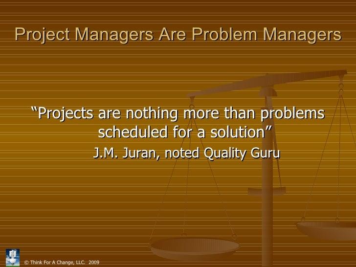 creative problem solving project management